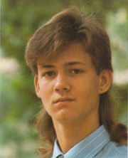 Ian says it's not a mullet.