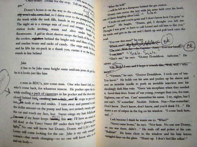 book page notes