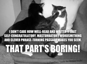 BORING WRITING
