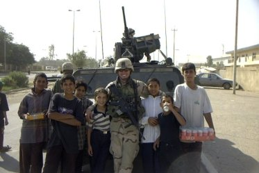 andy in iraq